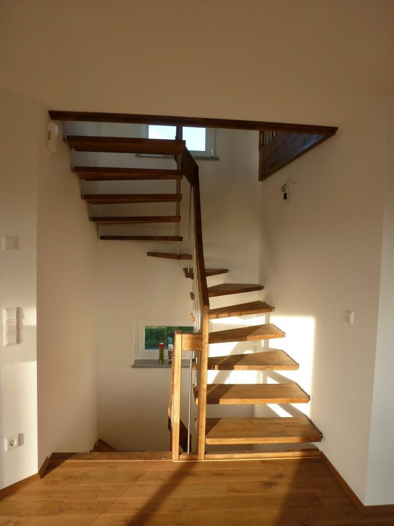 Treppe selbstgeölt